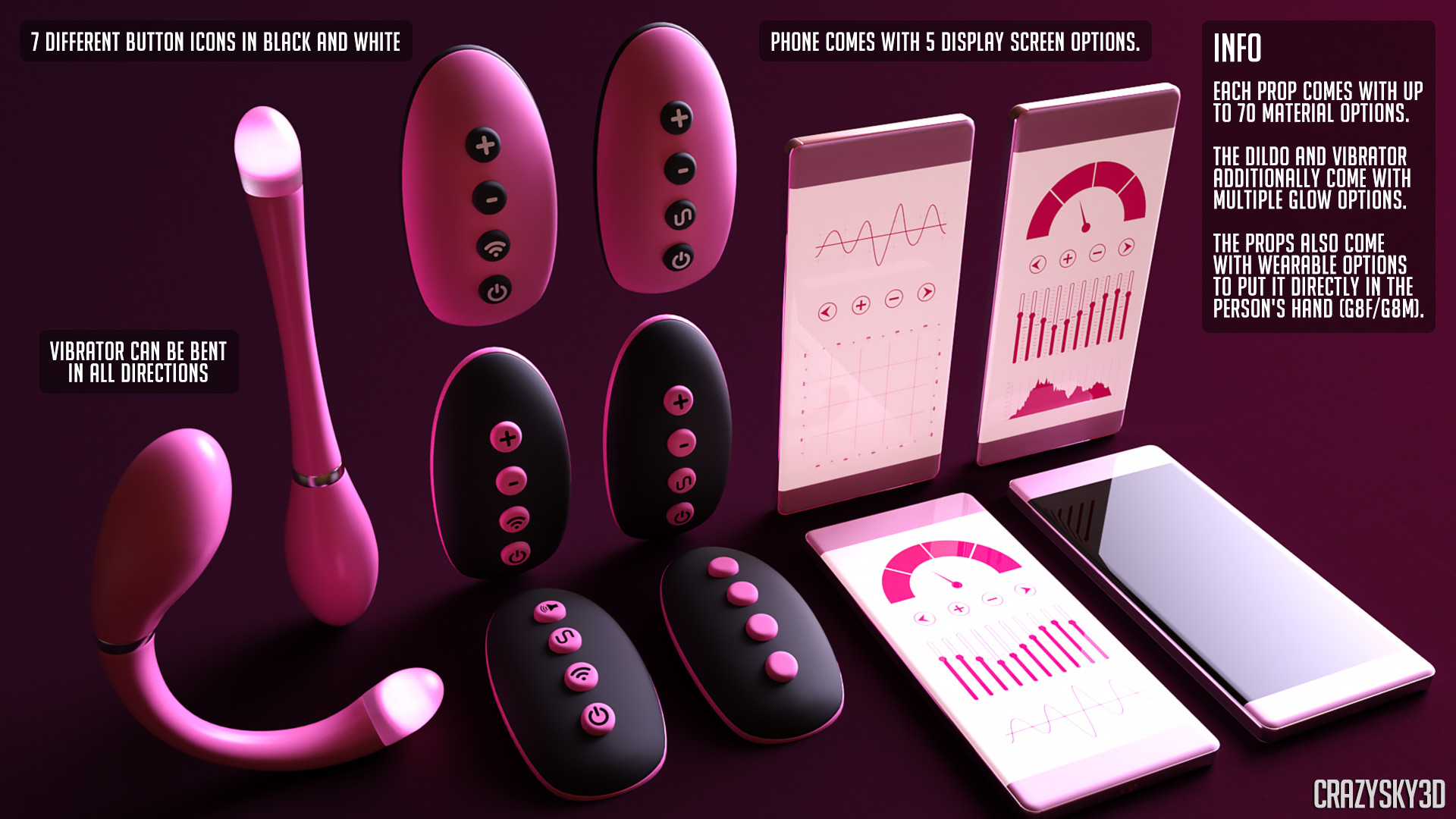 Remote Control Vibrator - CrazySky3D - 3D Porn Artist